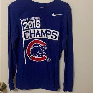 Chicago Cubs 2016 World Series Shirt.